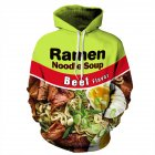 Men Vivid Color Hand-pulled Noodles 3D Printing Warm Hoodies QZ-007_M