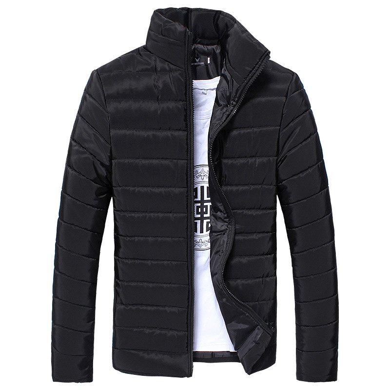 Men Winter Down Cotton Padded Jacket