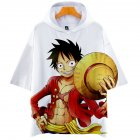 Men Women 3D Digital Printing Cartoon One Pieces Short Sleeve Hooded T Shirt Q-5689-YH09 H_XL