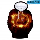 Men Women 3D Halloween Pumpkin Face Digital Printing Hooded Sweatshirts N-03876-YH03 Style 8_XXL
