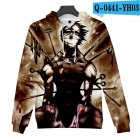 Men Women 3D Naruto Series Digital Printing Loose Hooded Sweatshirt Q-0441-YH03 A_L