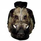 Men Women Cool 3D Animal Pattern Digital Printing Hooded Sweatshirts N-04225-YH03 A style_XL