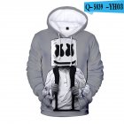 Men Women DJ Marshmello Fans 3D Print Small Logo Long Sleeve Sport Hoodies Sweatshirt J style_L