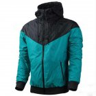 Men Women Jacket Sports Sunscreen Outdoor Windbreak Running Mountaineering Sportswear Coat green_L