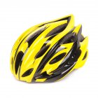 Men Women Outdoor All in One Safety Helmet for Cycling Yellow black One size