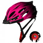 Men Women Piece Molding Cycling Helmet for Head Protection Bikes Equipment  Gradient pink_One size