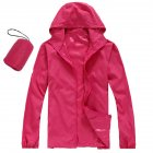 Unisex QuickDry Hiking Jacket red XL