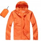 Unisex QuickDry Hiking Jacket orange XL