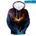 Men Women Unisex New Fashion Painting 3D Hoodies Animal Wolf Print Casual Hooded Sweatshirt Type G_XL