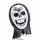 Men Women's Masquerade Party/Halloween Skeleton Ghost Face Cosplay Mask Masquerade Party Trick Grimaces F_Skull Mask