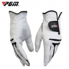 Men's Golf Gloves Breathable Leather Sheepskin Left/Right Hand Anti-skid Glove Left hand 25