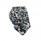 Men's Wedding Tie Floral Cotton Necktie Birthday Gifts for Man Wedding Party Business Cotton printing -044