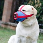 Mesh Cloth Breathable Dog Mouth Muffle