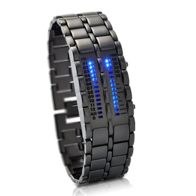 Blue LED Watch - Elite Clock