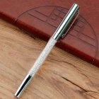 Metal Crystal Signature Pen Office Stationery Multi color Delicate Pen Gift Silver plating 1 0mm