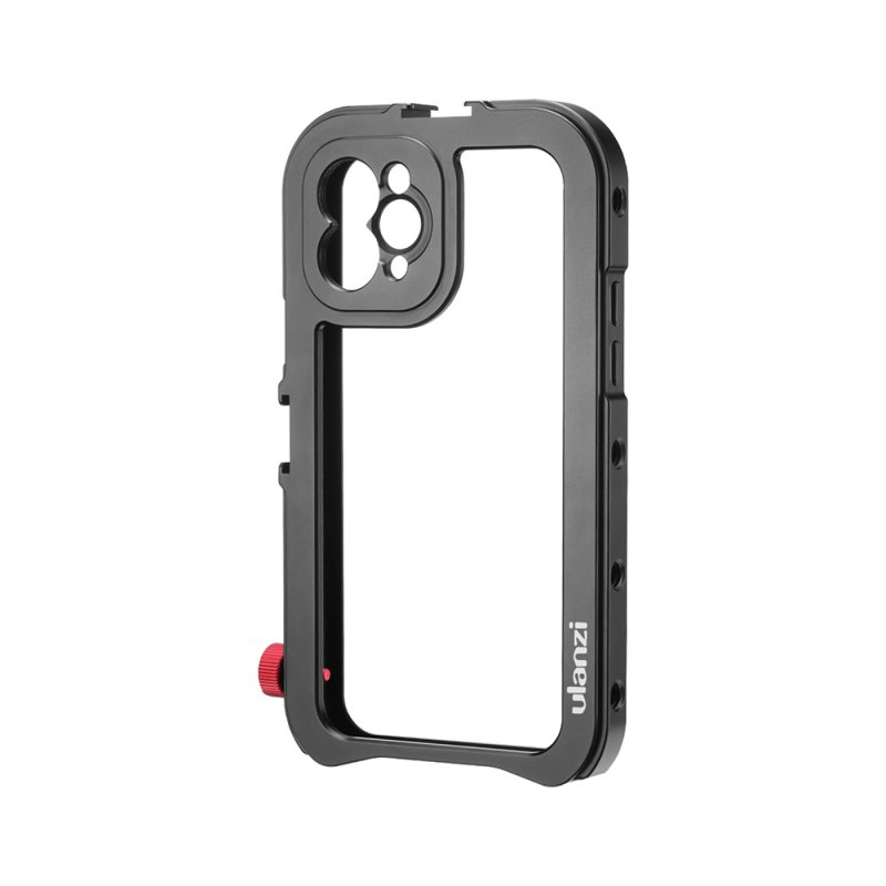 Metal Phone Cage for iPhone 11/11 Pro/11 Pro Max 17mm Interface Cage Vlog Video Accessory for Lens DOF For iPhone11 Pro Max