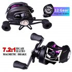 Metal Spool Baitcasting Reel 10kg 7:2:1 Freshwater Fishing Wheel Fishing  Reel rm10_Right hand R