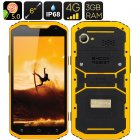 Mfox A10 Pro with 2 37g of AU750 gold is a rugged phone with some real bling  It has a 6 inch HD Screen  Android 5 0 OS  4G connectivity  Altimeter and more