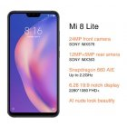 Mi 8 Lite Global Version 6 128GB Snapdragon 660 Octa Core 24MP Front Camera Smartphone
