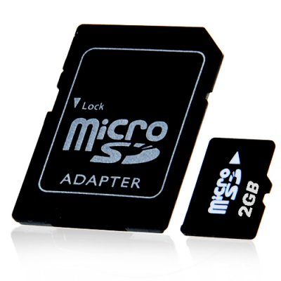 2GB TF Card with SD Card Slot Adapter