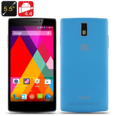 Mijue M580 Android Smartphone (Blue)
