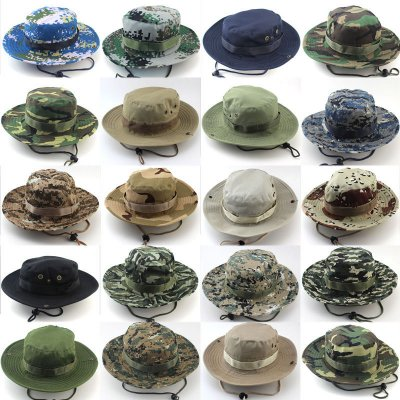 Military Camouflage Bucket Hats