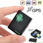 Mini A8 GPS Tracker Locator Car Kid Global Tracking Device Anti-theft Outdoor Safety Equipment black