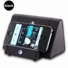 Mini Antomatic Induction Small Speaker Loud Speaker black