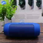 Mini Bluetooth Speaker Wireless Outdoor Stereo Bass Loudspeaker USB TF FM Radio blue