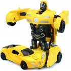 Mini Cartoon Deformation Car Robots Toys
