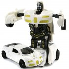 Car Inertial Transformation Robot Toy