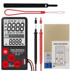 Mini Digital Multimeter BSIDE ADMS9 Tester Voltmeter Ohm Resistance NCV Continuity Test  ADMS9 English version