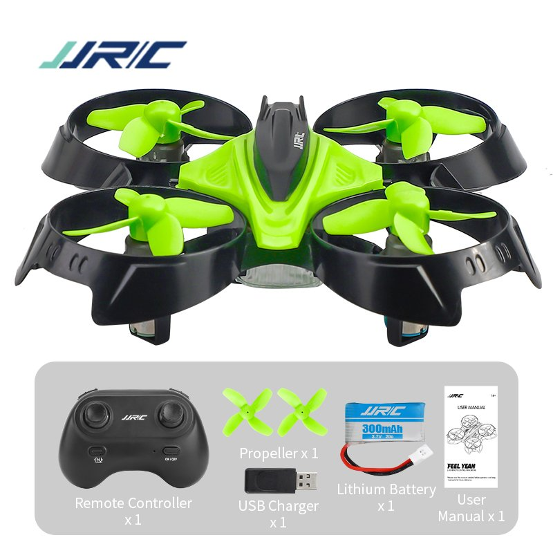 Mini Drone JJRC H83 6 Axis RC Micro Quadcopters With Headless Mode Drones One Key Return RC Helicopter  green