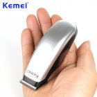 Mini Electric Hair Clipper Mini HairTrimmer Cutting Machine Beard Barber Razor for Men Silver