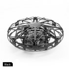 Mini Hand Operated Induction Drones UFO Quadrotor black