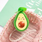 Mini Handheld Fan Avocado Shape Portable USB Charging Fan for Office Home Travel pouting_9.5 * 6cm