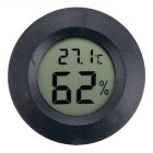 Mini LCD Digital Thermometer Hygrometer Humidity Temperature Measurement Tool black
