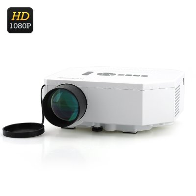 Mini LED Projector w/ LCD Image System