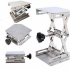 Mini Lab-Lift Lifting Platforms Lab Tool Jack Scissor Stand Rack Lab-Lifting Kit 10*10cm
