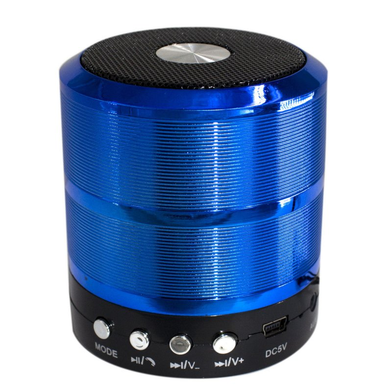 Mini Portable Bluetooth Wireless Speaker Super Bass for iPhone Samsung  blue