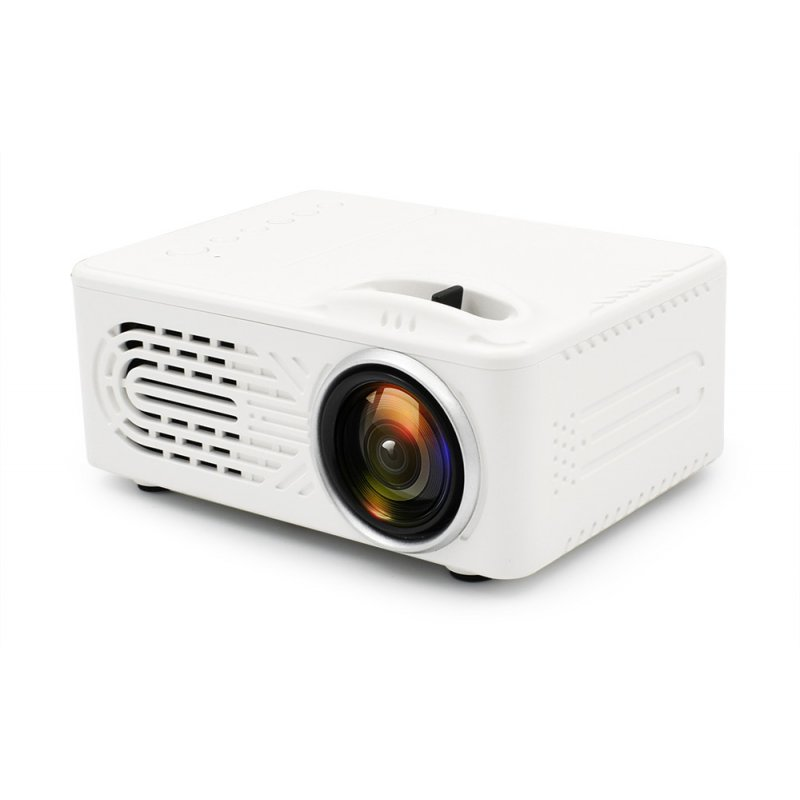 Mini Portable Projector-White EU Plug