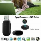Mini Round Head USB 2.0 U Disk Motion Detect Camera Monitor 1280*960 without WIFI None