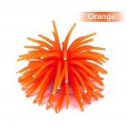 Mini Simulation Sea Urchin Ball Aquarium Fish Bowl Decoration Orange