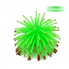 Mini Simulation Sea Urchin Ball Aquarium Fish Bowl Decoration green