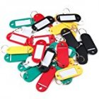 Mini Size Plastic Key Cards Label Card Classification Card School Office Accessories