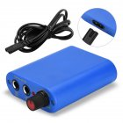 Mini Tattoo Power Supply Professional Power Supply with Cable Blue UK plug