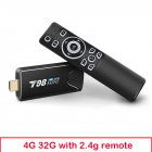 Mini Tv  Stick  Box Tv Android 10 4g 32g T98 Mini Tv Box Rk3318 Tv Box Smart Tv Box Media Player Tv Receiver 4+32G_US plug