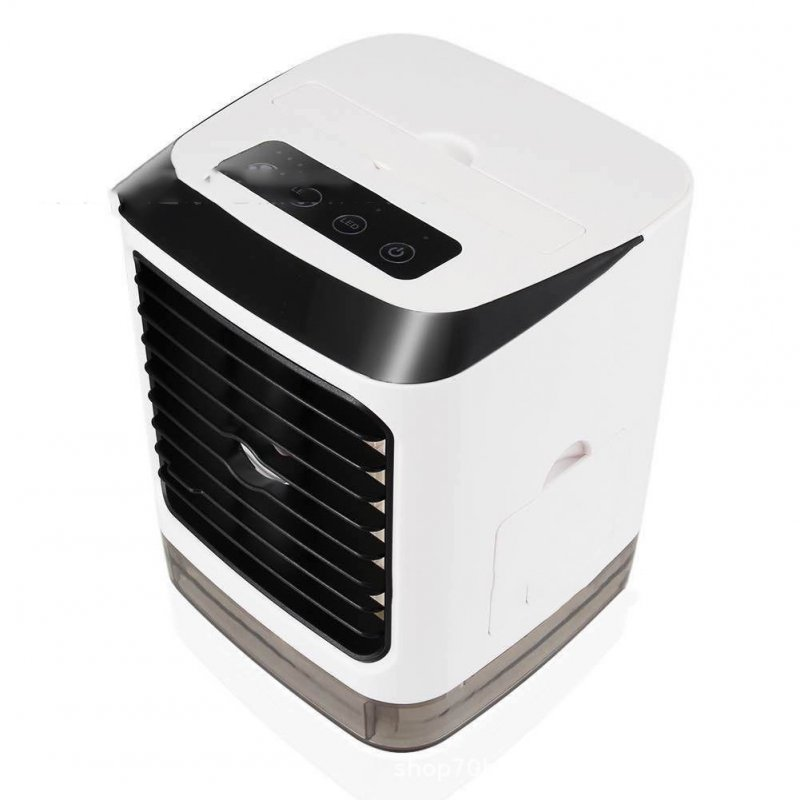 Mini USB Air Cooler Portable LED Lighting Air Humidifier Desktop Air Cooling Fan for Office Home 5V 2A 5V 2A
