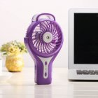 Mini USB Charging Handhold Fan Purple