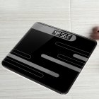 Mini USB Charging Smart Electronic ​Digital Household Weighing Scale Line black_Charging